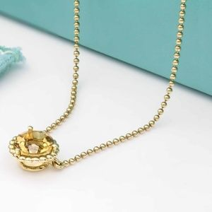 Tiffany & Co. Citrine Pendant in 18k Yellow Gold